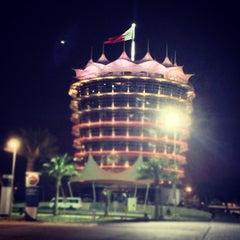 Photo taken at Bahrain International Circuit by Mohamed S. on 9/29/2012