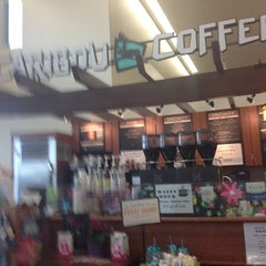 Photo taken at Caribou Coffee by Elizabeth F. on 4/7/2014