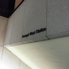 Photo taken at Farragut West Metro Station by Vahid O. on 1/19/2013