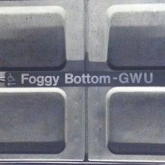 Photo taken at Foggy Bottom-GWU Metro Station by Vahid O. on 12/11/2012