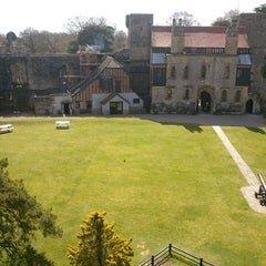 Photo taken at Caldicot Castle by Cati on 4/18/2013