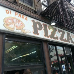 Photo taken at Di Fara Pizza by Charles F. on 9/26/2012