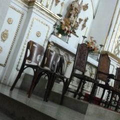 Photo taken at Igreja da Varzea by Thaiz P. on 11/2/2013