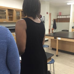Photo taken at Science Building by Brie N. on 4/1/2015