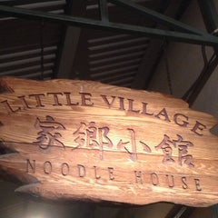 Photo taken at Little Village Noodle House by Jayleen S. on 8/31/2014