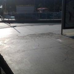 Photo taken at Hacıosman Metro İstasyonu by Erdinç T. on 9/24/2013