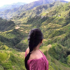 Photo taken at Banaue Rice Terraces Viewpoint by Sheila S. on 9/24/2015