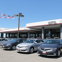 Photo taken at Capitol Toyota by Capitol Toyota on 9/23/2013