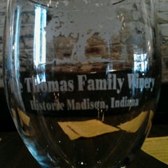 Photo taken at Thomas Family Winery by Alicia A. on 10/13/2012