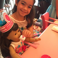 Photo taken at American Girl Boutique & Bistro by Emily D. on 4/19/2015