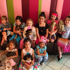 Photo taken at American Girl Boutique & Bistro by Emily D. on 4/20/2015