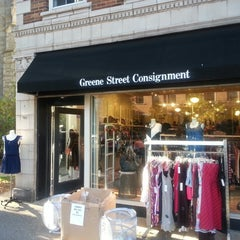 Photo taken at Greene Street Consignment Shop by James M. on 9/28/2013