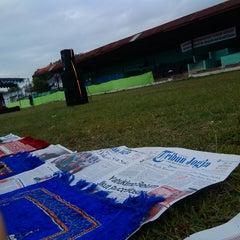Photo taken at Stadion Kridosono by Tova N. on 7/28/2014