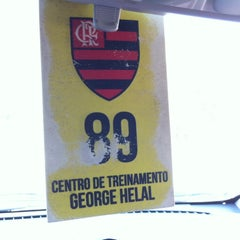 Photo taken at Ninho do Urubu (CT do Flamengo) by Falando de Flamengo on 2/27/2014