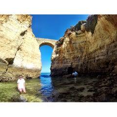Photo taken at Praia da Batata by Gui M. on 7/10/2015
