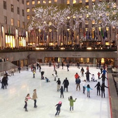 Photo taken at Rockefeller Center Christmas Tree by Felipe Z. on 11/20/2012