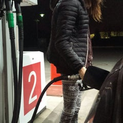 Photo taken at Lukoil by Janis J. on 11/4/2014