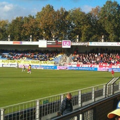 Photo taken at Mandemakers Stadion by Thijs B. on 10/28/2012