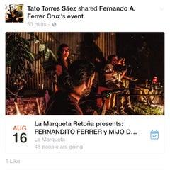 Photo taken at La Marqueta by Tato T. on 8/16/2015