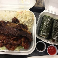 Photo taken at L&L Hawaiian Barbecue by Kimberly S. on 11/9/2012