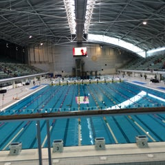 Photo taken at Sydney Olympic Park Aquatic Centre by RedV6 \. on 2/14/2015