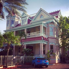 Photo taken at The Southernmost House by Nicolas G. on 8/5/2014