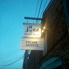 Photo taken at Blues Alley by Danielle on 9/16/2012