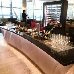 Photo taken at BA Galleries First Lounge by Ben W. on 1/22/2013