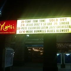 Photo taken at Yoshi's Jazz Club & Japanese Restaurant by Shabihi Kojo G. on 12/23/2012