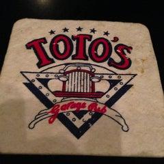 Photo taken at Toto's Garage by varun d. on 12/21/2012