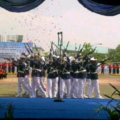 Photo taken at Sekolah Tinggi Ilmu Pelayaran (STIP) Marunda by Christian R. on 3/27/2013