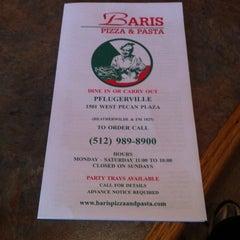 Photo taken at Baris Pasta & Pizza by Greg Z. on 12/14/2013