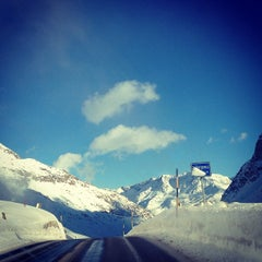 Photo taken at Julierpass by ND S. on 12/26/2012