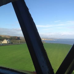 Photo taken at Souter Lighthouse by Sheila S. on 10/17/2013