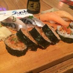Photo taken at Okoze Sushi by Maria Z. on 4/12/2014