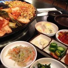 Photo taken at Honey Pig Korean BBQ by Andrew R. on 6/1/2013