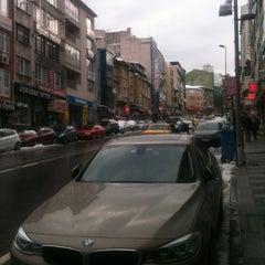 Photo taken at Halk Caddesi by Kenan U. on 2/22/2015