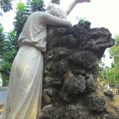 Photo taken at Museum Taman Prasasti by arief v. on 11/21/2015