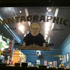 Photo taken at Fantagraphics Bookstore & Gallery by Marcus G. on 2/5/2013