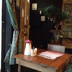 Photo taken at Café del Jardín by Macarena L. on 9/22/2013