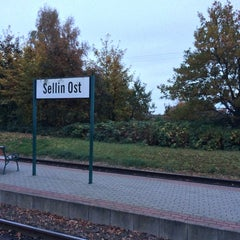 Photo taken at Bahnhof Sellin Ost by Hannes J. on 10/25/2013
