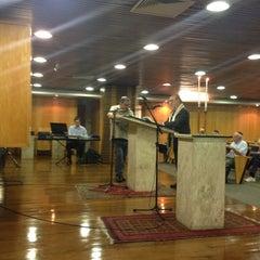 Photo taken at Sinagoga da Hebraica by Jose Luiz G. on 1/10/2014