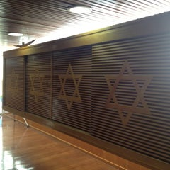 Photo taken at Sinagoga da Hebraica by Jose Luiz G. on 10/8/2012