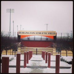 Photo taken at Burlington High School by Joe H. on 3/1/2013