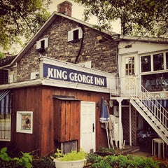 Photo taken at King George Inn by Discover Lehigh Valley on 7/23/2013