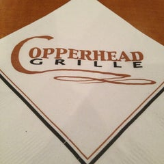 Photo taken at Copperhead Grille by Agent P. on 3/15/2013