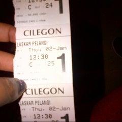 Photo taken at Cinema 21 Cilegon by Tri Septi C. on 1/2/2014