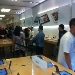 Photo taken at Apple Store, Century City by Marc K. on 9/23/2012