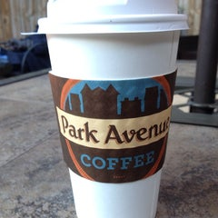 Photo taken at Park Avenue Coffee by Whitney W. on 11/3/2013