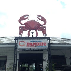 Photo taken at Dandito Seafood | Restaurant by Luis B. on 1/31/2014